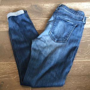 McGuire Pirelli Skinny Jean. Ankle roll. Size 29.